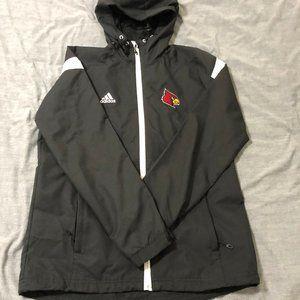 adidas Team Issue Louisville Full Zip Jacket
